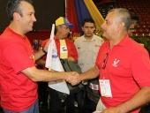 Entrega del morral de Chávez. 22 de mayo de 2013