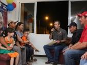 Entrega de 760 Viviendas en la mora la Victoria. 31 de octubre del 2014