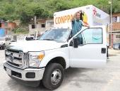 Entrega de un camión con cava al consejo de pescadores de Cata. 11 de septiembre de 2013
