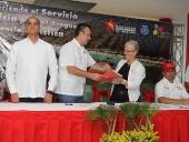 Gobernación de Aragua y UNES firmaron convenio. 27 de septiembre de 2013