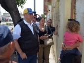 Gobierno Bolivariano de Aragua atiende afectados de Paraparal. 06 de mayo de 2013