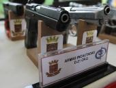 Gobierno Bolivariano de Aragua inutilizó 277 armas incautadas. 27 de septiembre de 2013