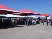 Gobierno de Aragua realizó Mega Mercal en Fundo Coropo. 12 de mayo de 2013.