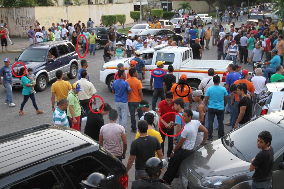 Hechos de violencia provocados por Capriles en Maracay. 27 de junio de 2013