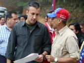 Tareck El Aissami inauguró 11 kilómetros de vía rehabilitada del tramo La Victoria – Colonia Tovar. 14 de octubre de 2014