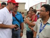 Inauguración del campamento La Morita. 14 de septiembre de 2013