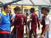 Tareck El Aissami inicia Cuadrangular Internacional de Fútbol Sub 15. 18 de julio de 2015