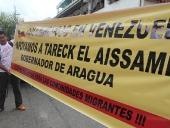 Tareck El Aissami realizó un recorrido por La Victoria, municipio José Felix Ribas. Durante la visita participó en la inauguración de una oficina del SAIME. 10 de noviembre de 2012.