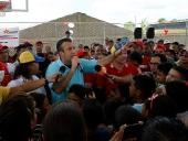 Inaugurada cancha en el sector Dos Montes del municipio Urdaneta. 10 de mayo de 2013