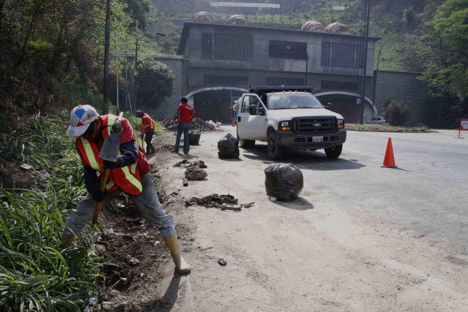 Iniciaron trabajos de rehabilitación del túnel La Cabrera y ARC.  13 de mayo de 2013