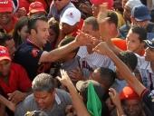Gran marcha y acto de inicio de campaña del Candidato de la Revolución Tareck El Aissami para la Gobernación del estado Aragua. Sector 23 de enero, Maracay, 1 de noviembre de 2012.