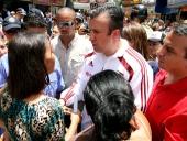 Comenzó rehabilitación del bulevar Pérez Almarza en el centro de Maracay. 9 de septiembre de 2013