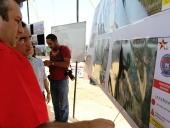 Inspección de construcción de  contra muro en La Punta y Mata Redonda. 30 de mayo de 2013
