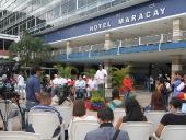 Instalada mesa técnica para recuperación del Hotel Maracay. 27 de septiembre de 2013