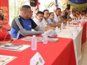 Instaladas mesas de trabajo entre misiones e instituciones bolivarianas en Aragua