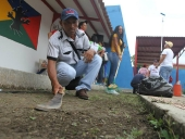 Jornada de trabajo voluntario en municipio Libertador. 27 de julio de 2013