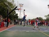 Inauguración de nuevas canchas deportivas en el Polideportivo Las Delicias. 3 de mayo de 2013