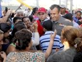 Gobernador El Aissami reinauguró Complejo Deportivo San Vicente. 3 de mayo de 2013