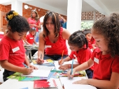 Presidente Maduro inauguró Centro de Educación Inicial en Ciudad Los Aviadores. 22 de septiembre de 2014