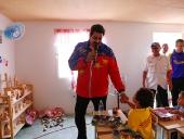 Presidente Nicolás Maduro instaló base de Misiones Socialistas en Aragua. 4 de septiembre de 2014