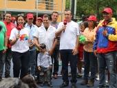 Re-inauguración de las canchas de tenis del Hotel Maracay. 31 de mayo de 2013