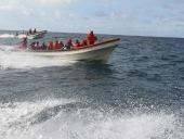 Tareck El Aissami participo en un consejo de pescadores. Se comprometió a crear un fondo para ayudar a este sector, así como talleres para la construcción de lanchas en la zona. 8 de noviembre de 2012