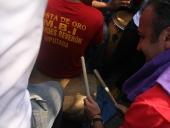 Tareck El Aissami visito la costa aragüeña. En el sector Costa de Oro recorrió sus calles y visito algunas viviendas. La jornada se prolongó por espacio de tres horas. Al finalizar anuncio la creación de una escuela para la formación de operadores turísticos. 8 de noviembre de 2012