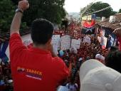 Recorrido por el pueblo de San Sebastián de los Reyes luego de ofrecer una entrevista en la emisora comunitaria San Sebastianera 88.9 fm. 4 de noviembre de 2012.