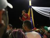 Reunión con representantes del Poder Popular en la población de Villa de Cura, municipio Zamora, el 4 de noviembre de 2012.