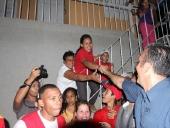 Actividad de calle y concentración en el municipio José Rafael Revenga. 09 de noviembre de 2012