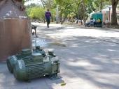 Obras de rehabilitación de la Plaza Bolívar de Maracay