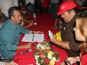 Tareck El Aissami, visitó la casa de las abuelas y abuelos de Mariño. Recibió un pliego de peticiones en beneficio de las personas de la tercera edad que será incluido en el plan de gobierno regional. 14 de noviembre de 2012