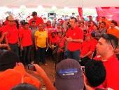 Reunión con productores agrícolas en Barbacoa