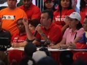 Tareck El Aissami se reunió con la Comuna Socialista Paula Correa ubicada en el sector Trapiche del Medio del Municipio José Rafael Revenga. 18 de noviembre de 2012.
