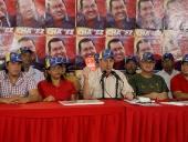 Rueda de Prensa sobre corrupción de Primero Justicia