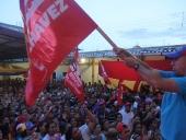 Tareck El Aissami abandera UBCH en el municipio Libertador. 2 de noviembre de 2013