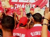Tareck El Aissami abandera UBCH en San Casimiro. 31 de octubre de 2013