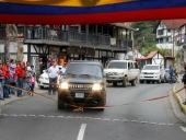 Tareck El Aissami entregó primer tramo de la vía Colonia Tovar-La Victoria. 26 de diciembre de 2013