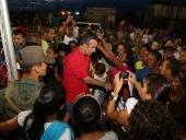 Tareck El Aissami inauguró Base de Misiones en El Viñedo. 11 de septiembre de 2014