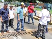 Tareck El Aissami inspeccionó desmontaje de elevado. 23 de agosto de 2013