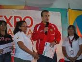 Tareck El Aissami otorgó créditos al sector productivo. 3 de septiembre de 2014