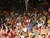 Tareck El Aissami participó en el encendido de las luces de navidad del municipio Girardot. Afirmó que estas navidades serán más chavistas, revolucionarias y bolivarianas. 1 de diciembre de 2012.