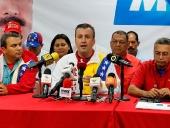 Tareck El Aissami realiza balance de elecciones 8D. 9 de diciembre de 2013