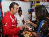 Tareck El Aissami realiza recorrido en Expo Aragua Potencia 2014. 3 de septiembre de 2014