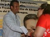 Tareck El Aissami sostuvo un encuentro con representantes de la Clase Media en Positivo, profesionales, técnicos y empresarios en el Hotel Maracay, municipio Girardot. Aseguró que obtendrá la victoria con una ventaja de más de 15 puntos el 16-D. 23 de noviembre de 2012.