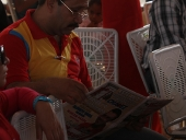 Tareck El Aissami se reunió con campesinas y campesinos del Valle de Tucutunemo en el municipio Zamora. En la asamblea aseguró, que Aragua será vanguardia de la Gran Misión Agro Venezuela. 2 de diciembre de 2012.