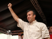 Tareck El Aissami se reunió con las Misiones e Instituciones del estado y afirmó que se acabarán las mafias que perjudican a los ciudadanos. 28 de noviembre de 2012.