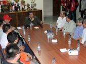 Tareck El Aissami se reunió con representantes de la Comunidad china residente en el estado, quienes manifestaron contundente respaldo a su candidatura. 28 de noviembre de 2012.