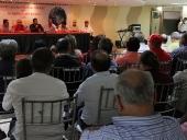 Tareck El Aissami se reunió con integrantes de la Comunidad Portuguesa en el estado Aragua, quienes manifestaron contundente respaldo a su candidatura. 28 de noviembre.