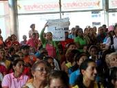 Encuentro entre el gobernador Tareck El Aissami y maestras y maestros de Aragua. 22 de octubre de 2013